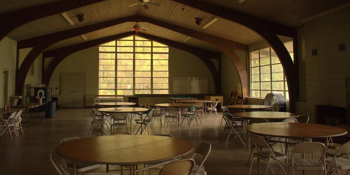 Maranatha Camp Conference Center wedding Huntsville