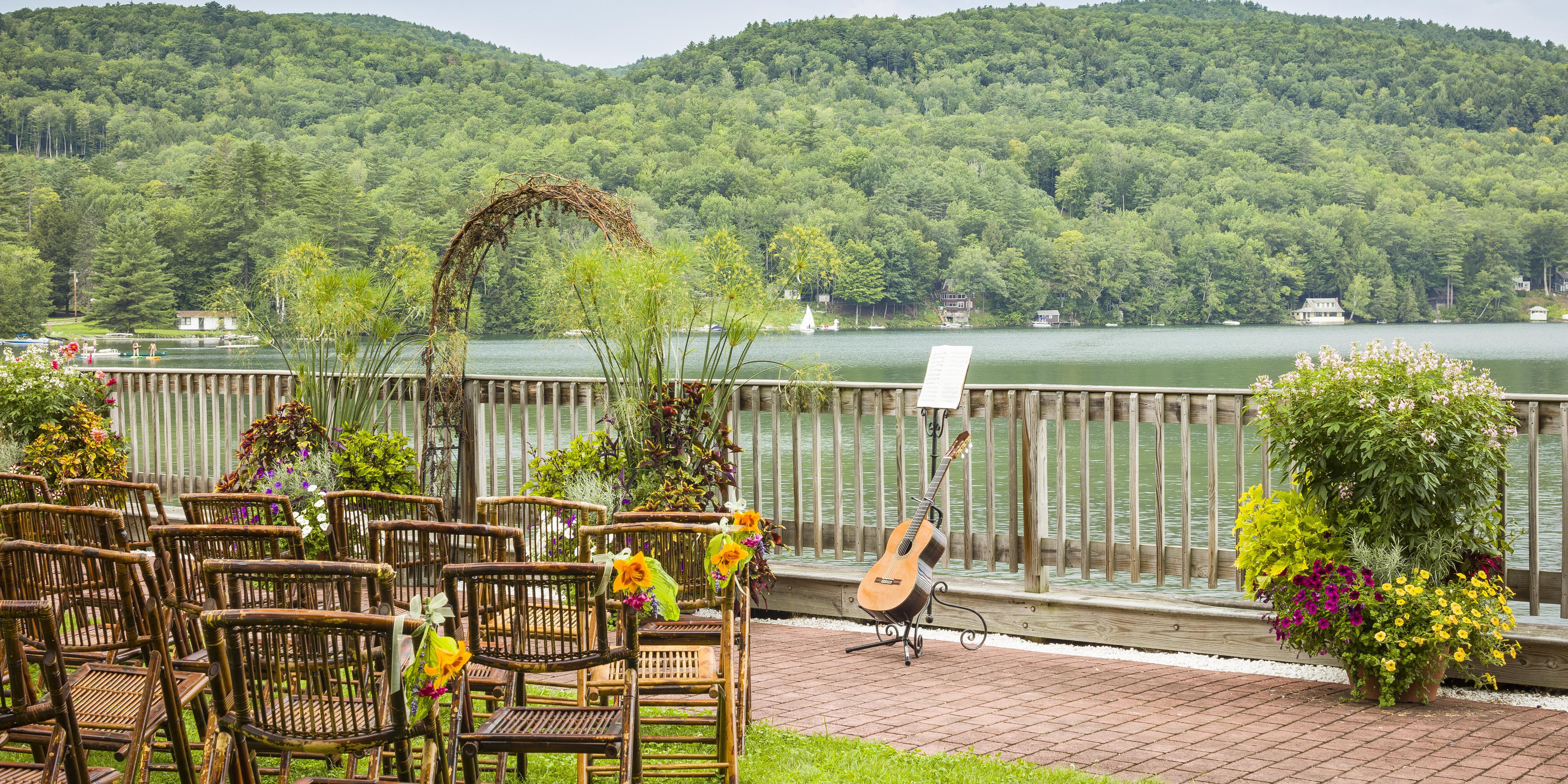 Lake Morey Resort wedding Vermont
