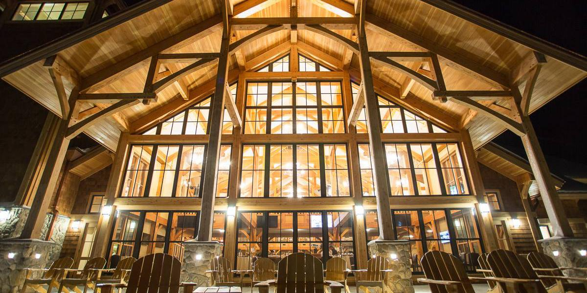 The Hermitage Clubhouse wedding Vermont