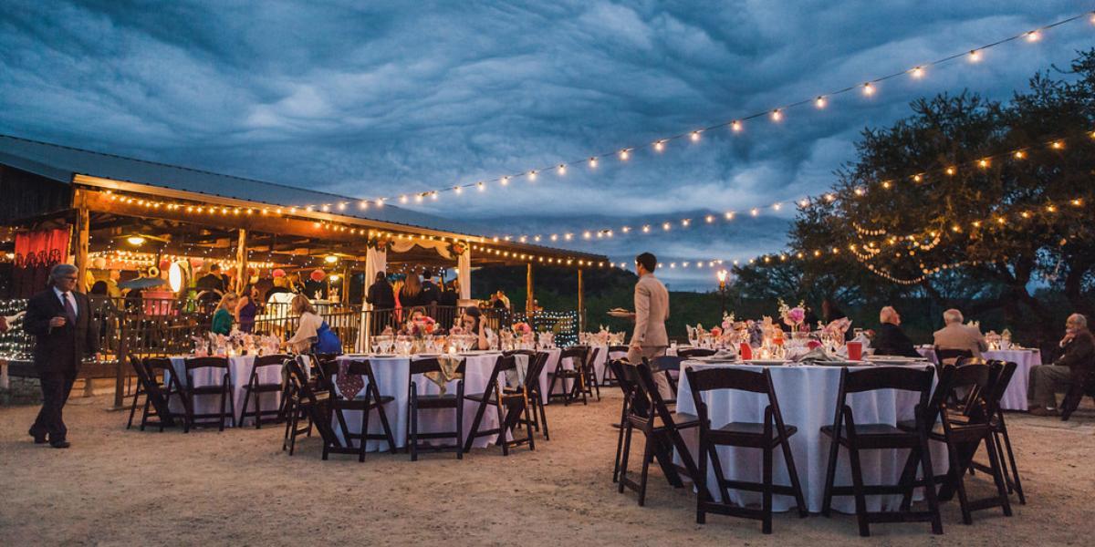 Hideout on the Horseshoe wedding San Antonio