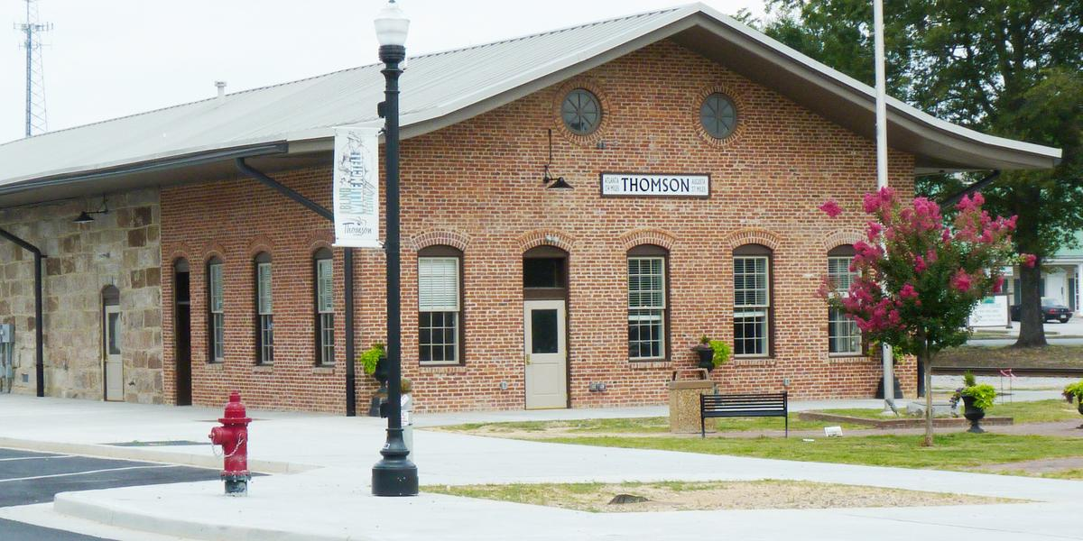 Thomson Depot wedding Atlanta