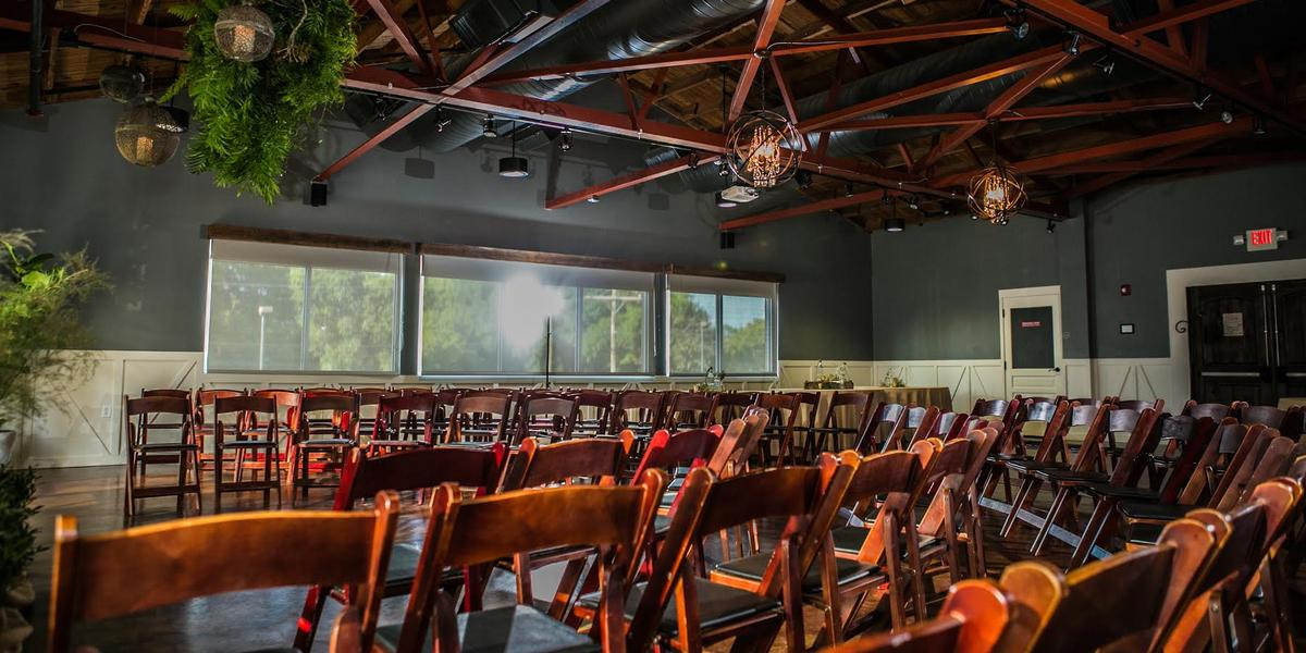 Audubon Park Exchange Ballroom at East End Market wedding Orlando