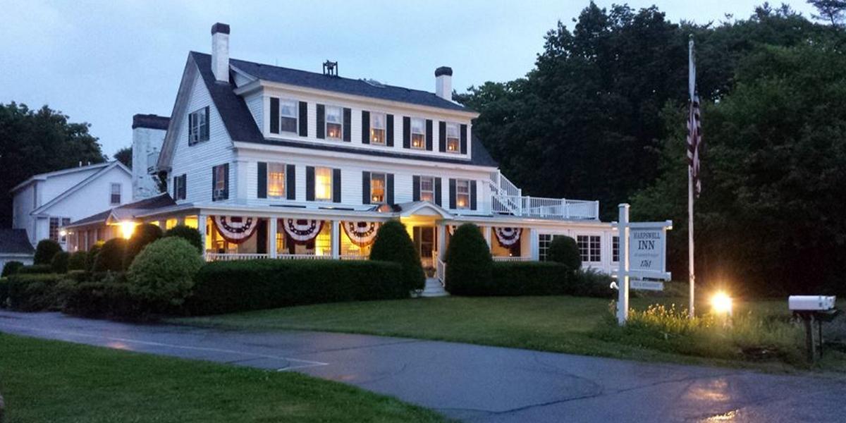 Harpswell Inn wedding Maine