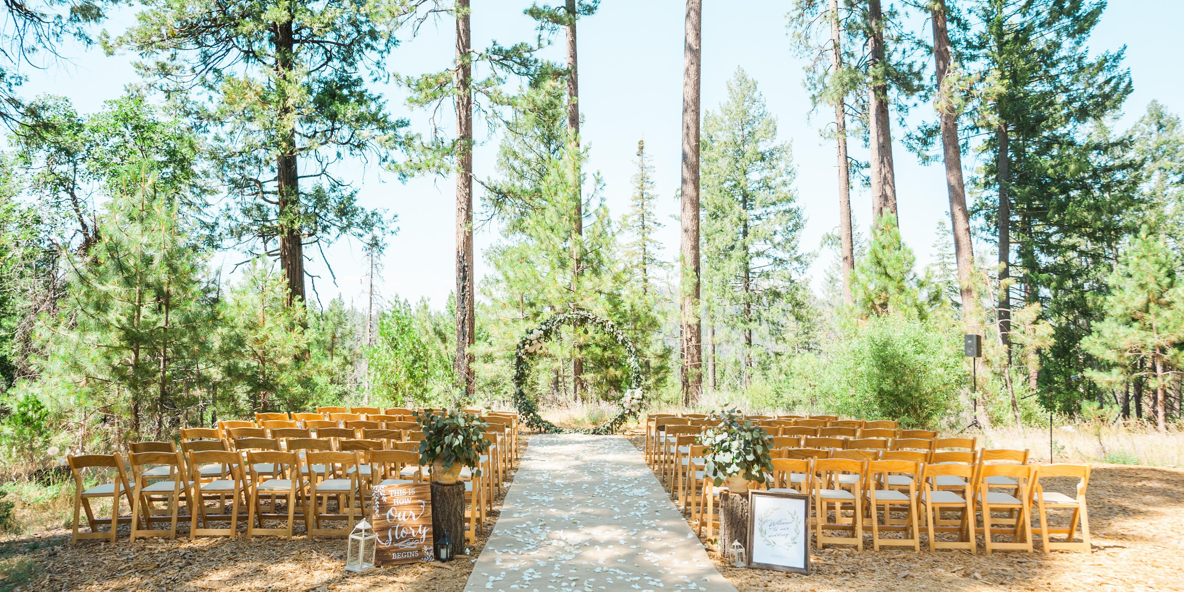 Rush Creek Lodge wedding Yosemite