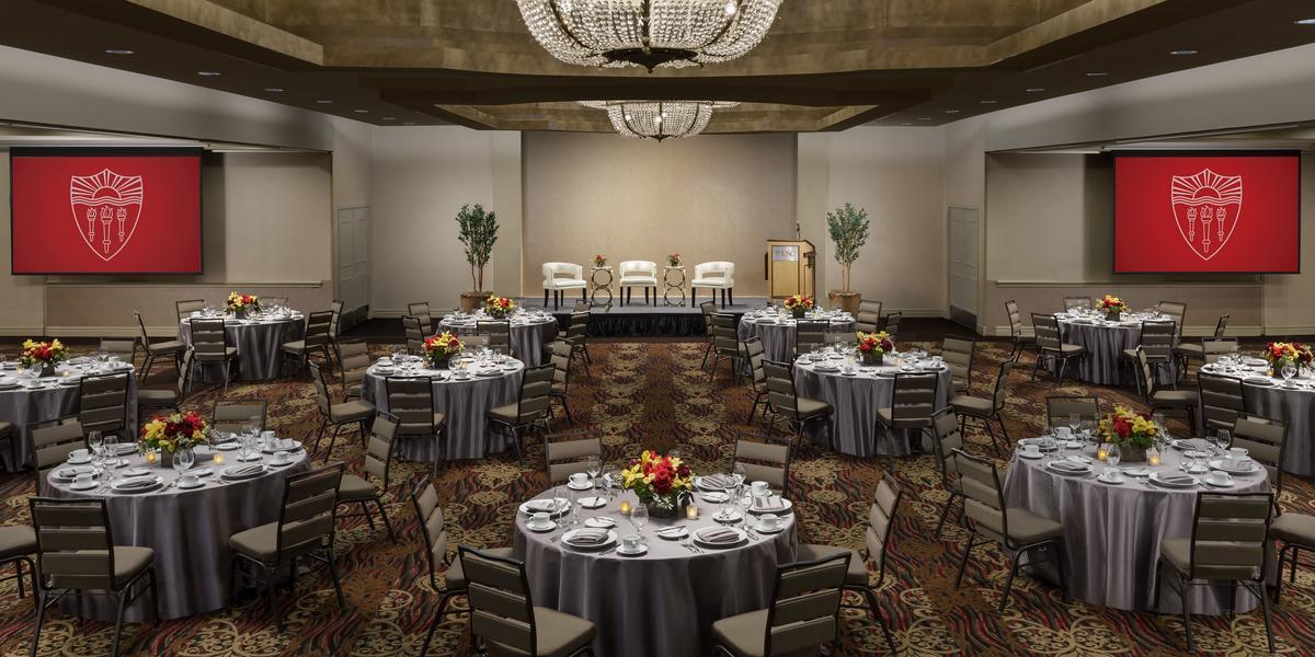 USC Hotel wedding Los Angeles