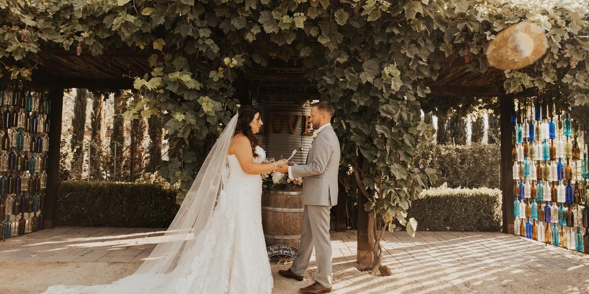 Peltzer Winery wedding Inland Empire