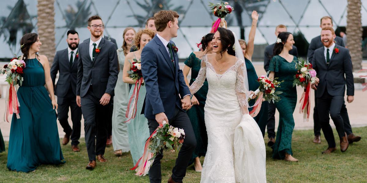The Dali Museum wedding Tampa