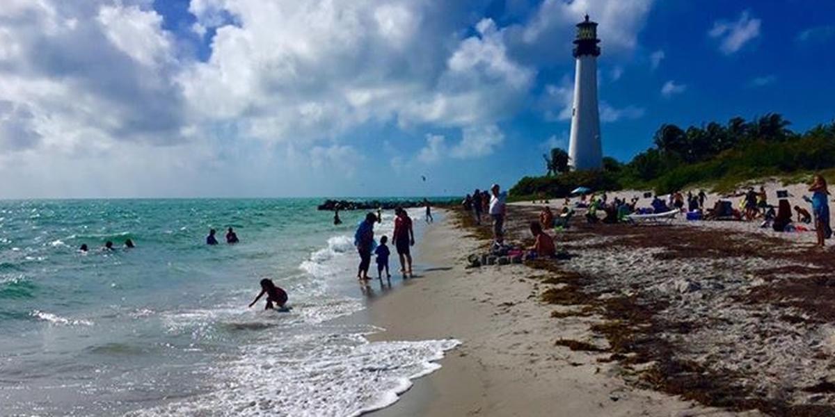 Bill Baggs Cape Florida State Park wedding Miami