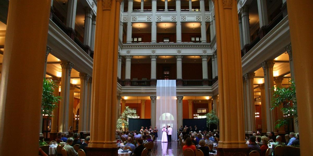 Landmark Center wedding Minnesota