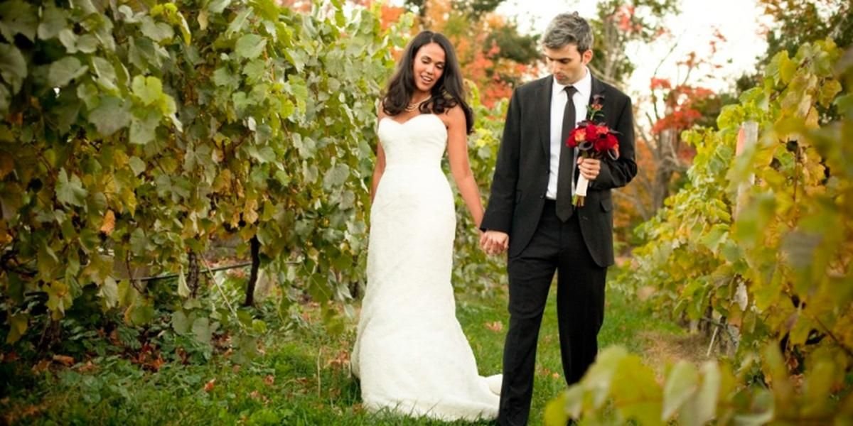 Nashoba Valley Winery wedding Boston