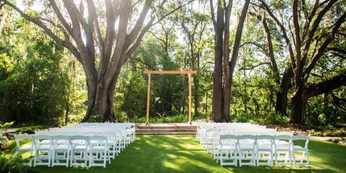The Secret Garden at Paradise Spring wedding Tampa