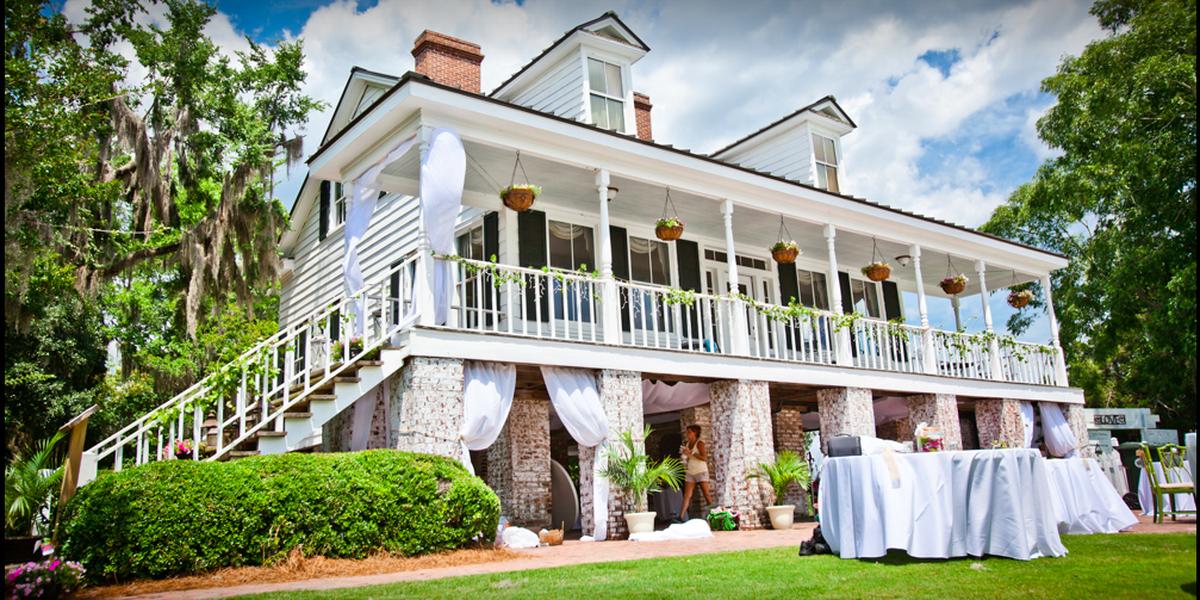 Old Santee Canal Park wedding Charleston