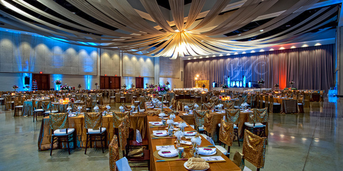 West-Cal Arena & Events Center wedding Acadiana