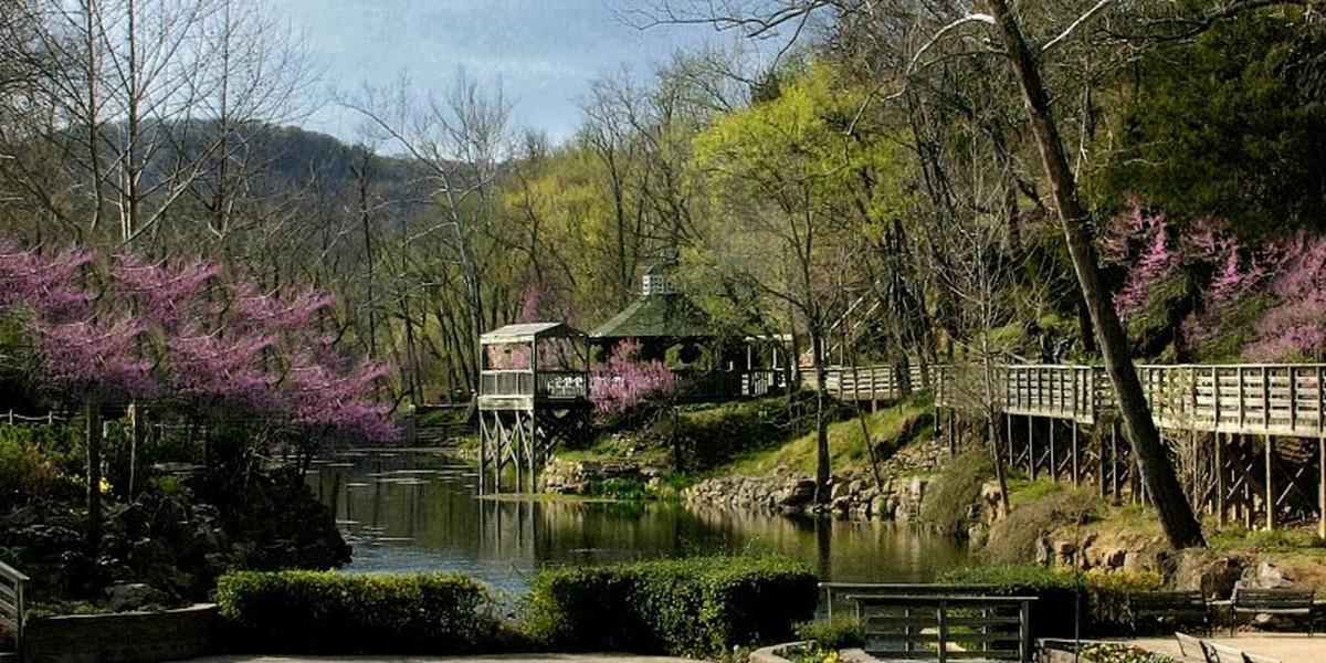 Blue Spring Heritage Center wedding Arkansas