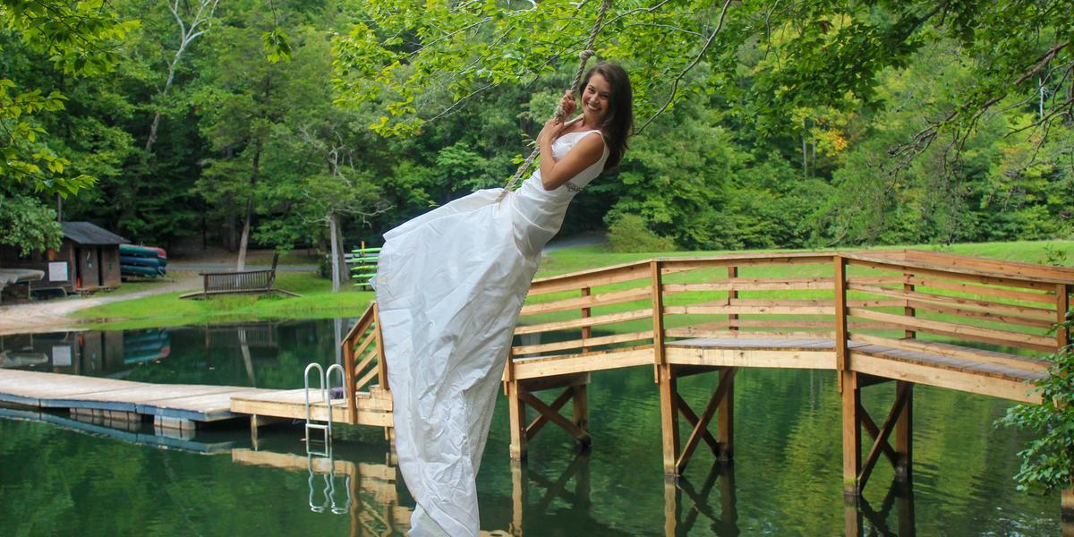 Camp Friendship wedding Charlottesville