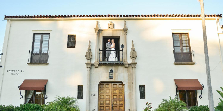 Riviera Mansion, Home of the University Club of Santa Barbara wedding Santa Barbara