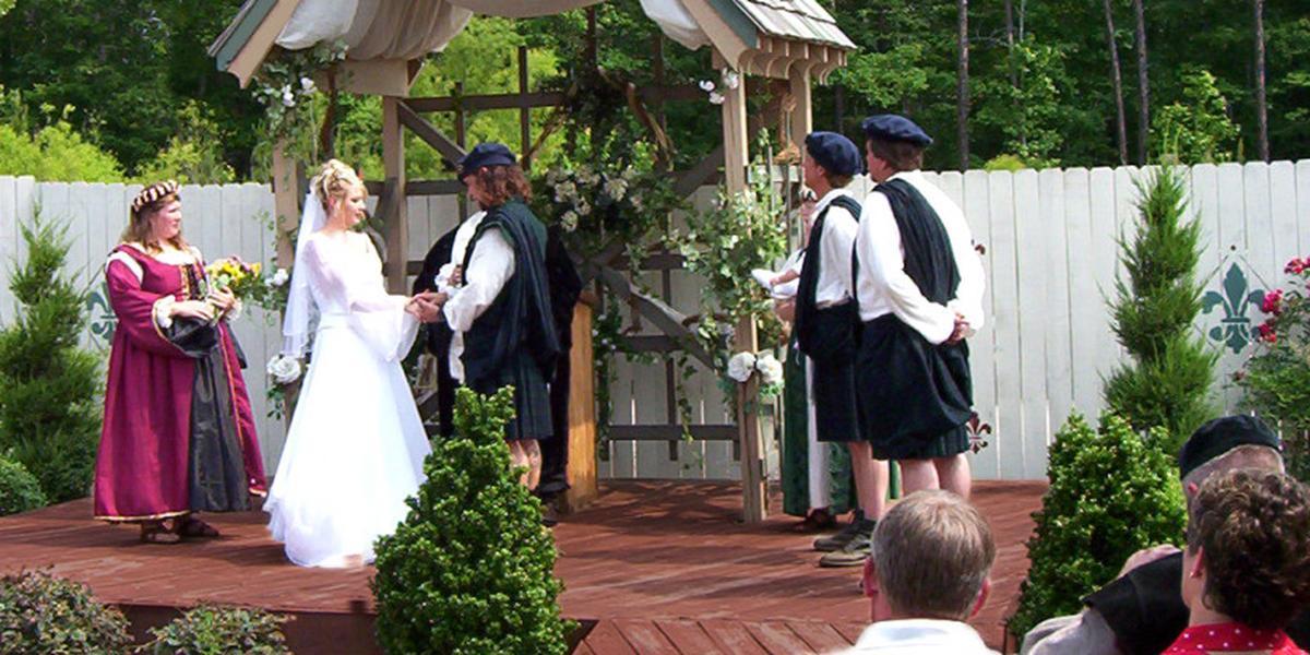 Georgia Renaissance Festival wedding Atlanta
