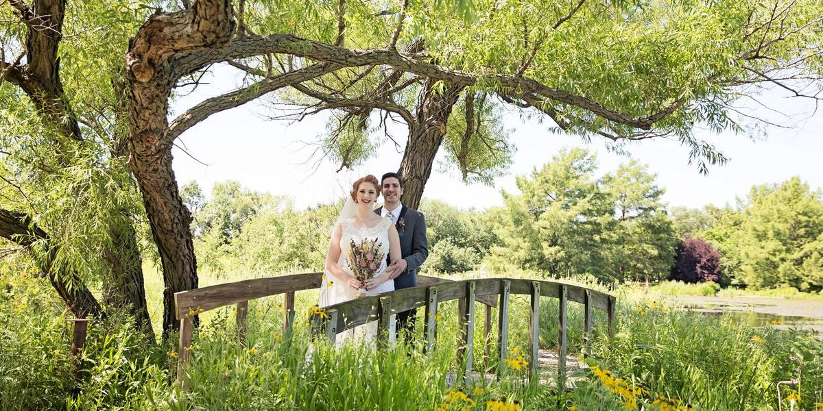 Dyck Arboretum of the Plains wedding Wichita