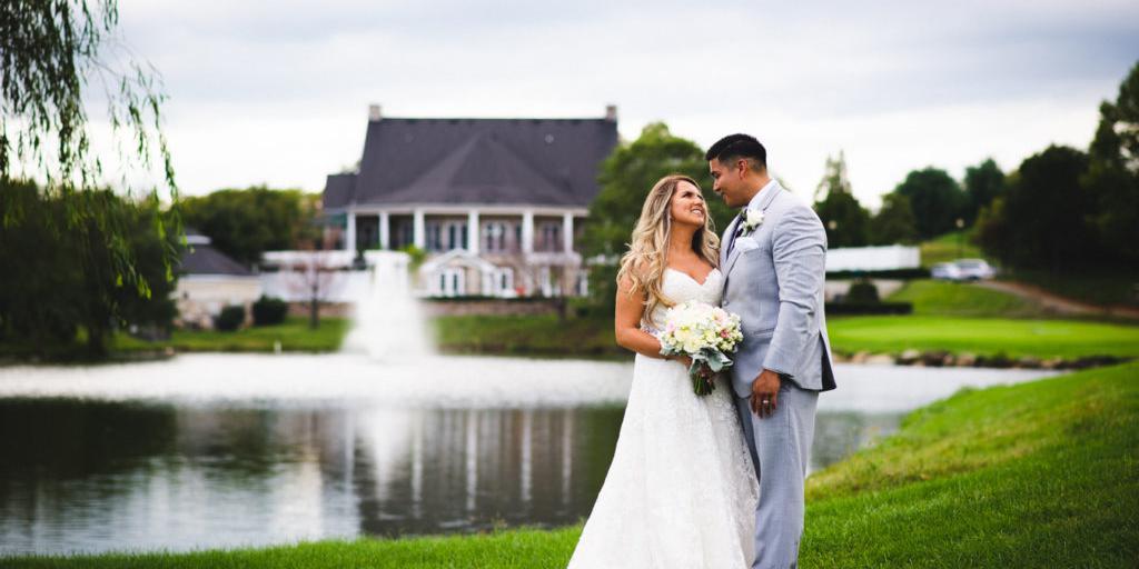 Richland Golf Club wedding Frederick