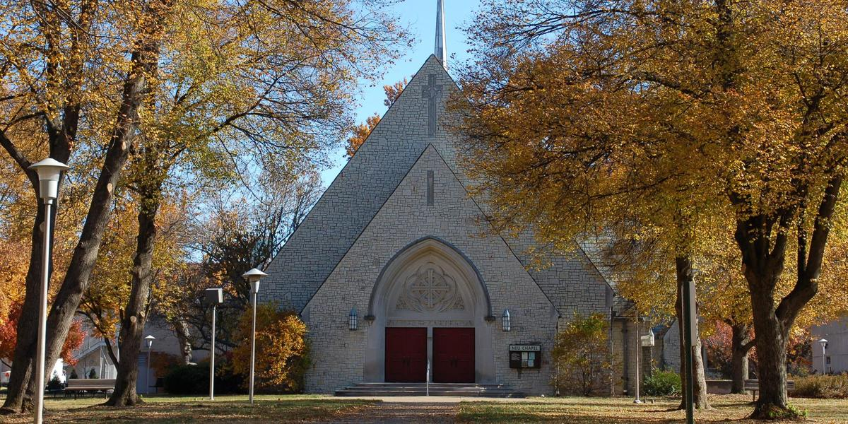 Neu Chapel at the University of Evansville wedding Southern Indiana
