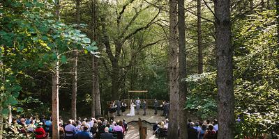 YMCA Camp St. Croix wedding Eau Claire