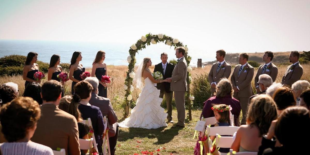 Spring Ranch wedding Mendocino