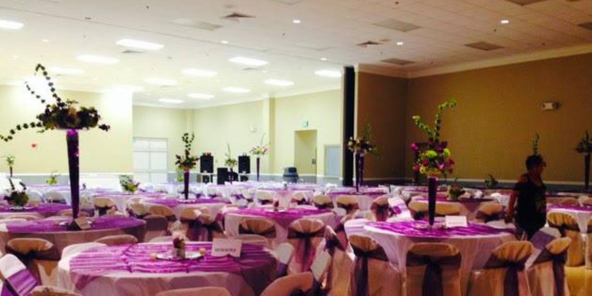 Carencro Community Center wedding Acadiana