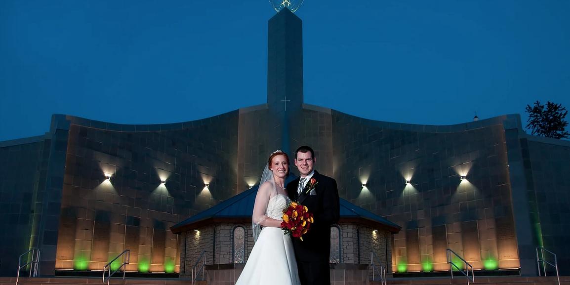 Shrine Of The Holy Spirit wedding Springfield