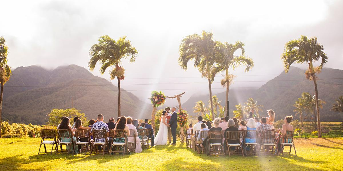 Maui Tropical Plantation & The Mill House Restaurant wedding Maui