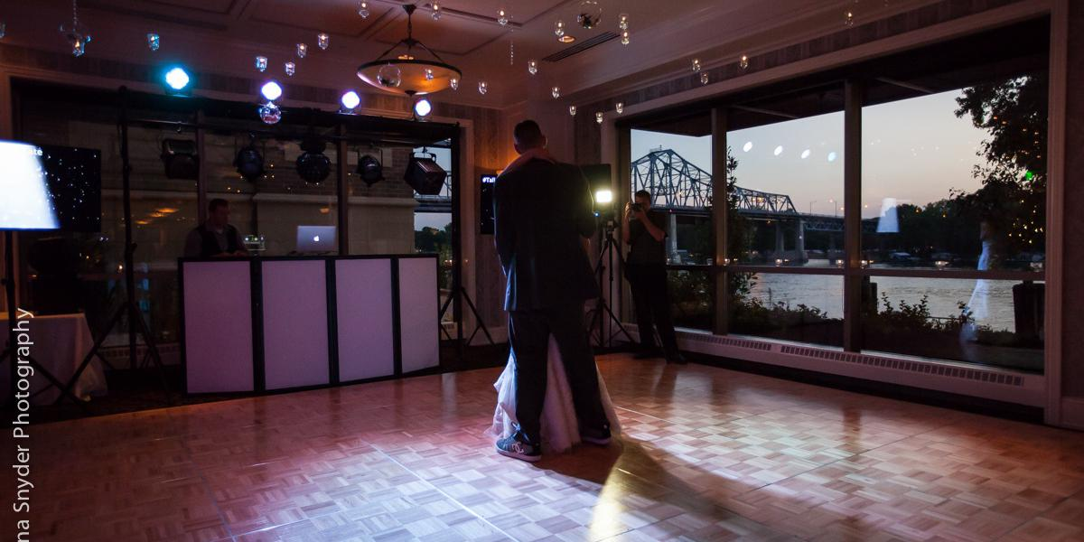 The Cargill Room at The Waterfront wedding Madison