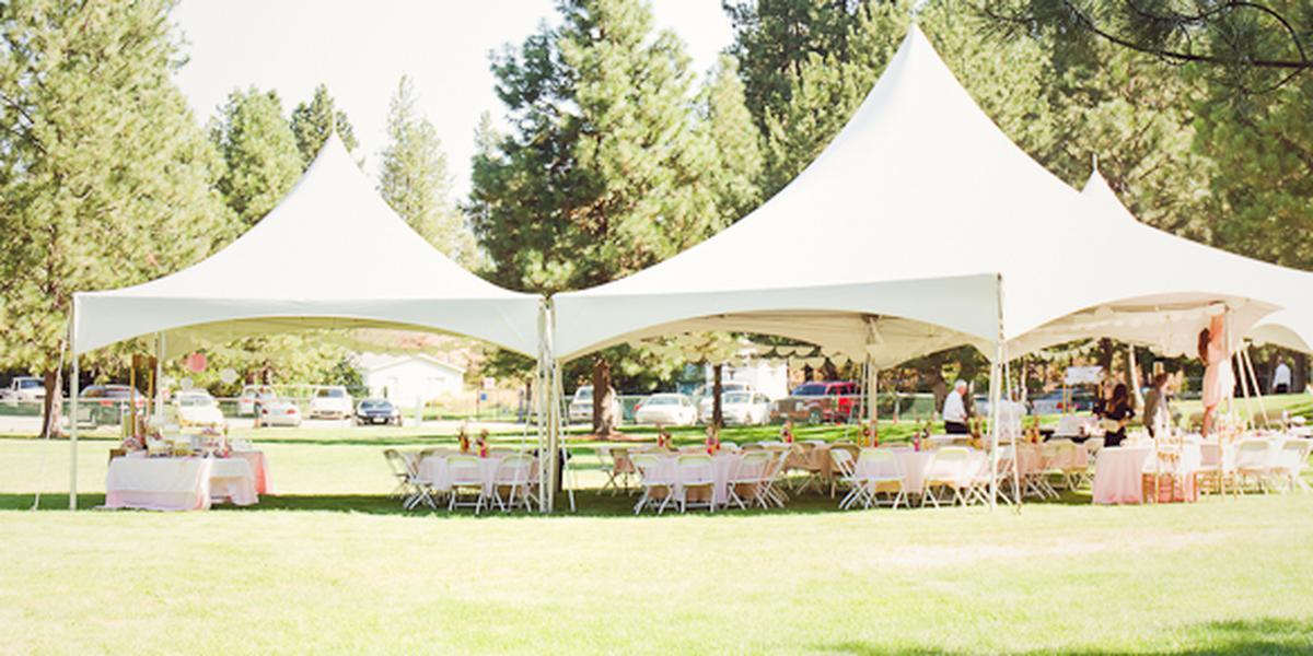 Camp Caro Lodge wedding Spokane