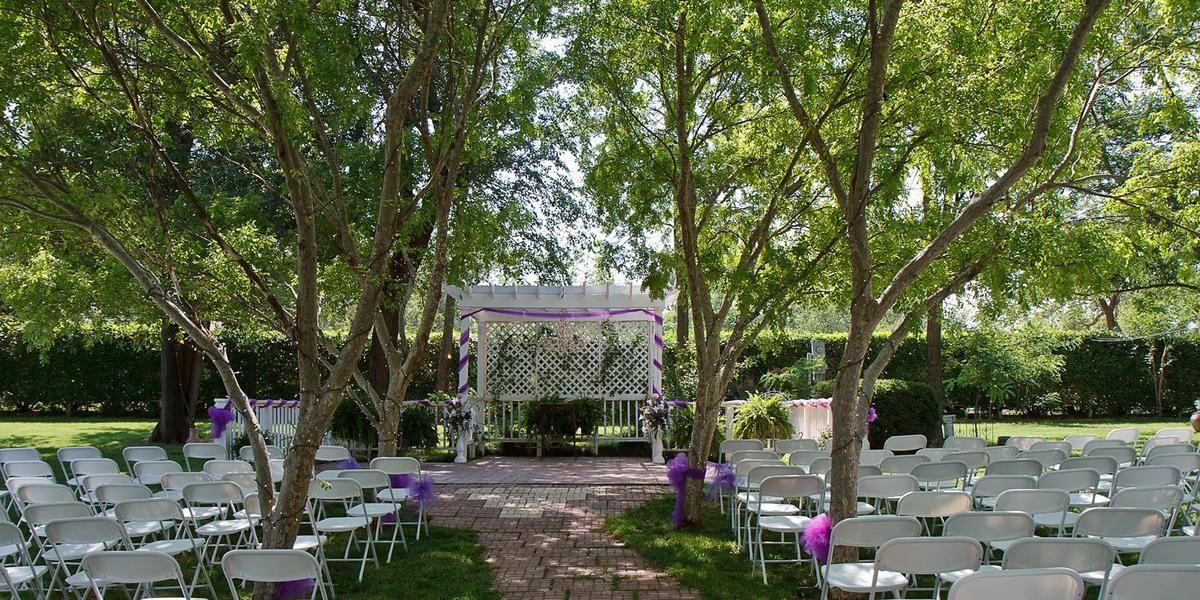 The Secret Gardens wedding Oklahoma City