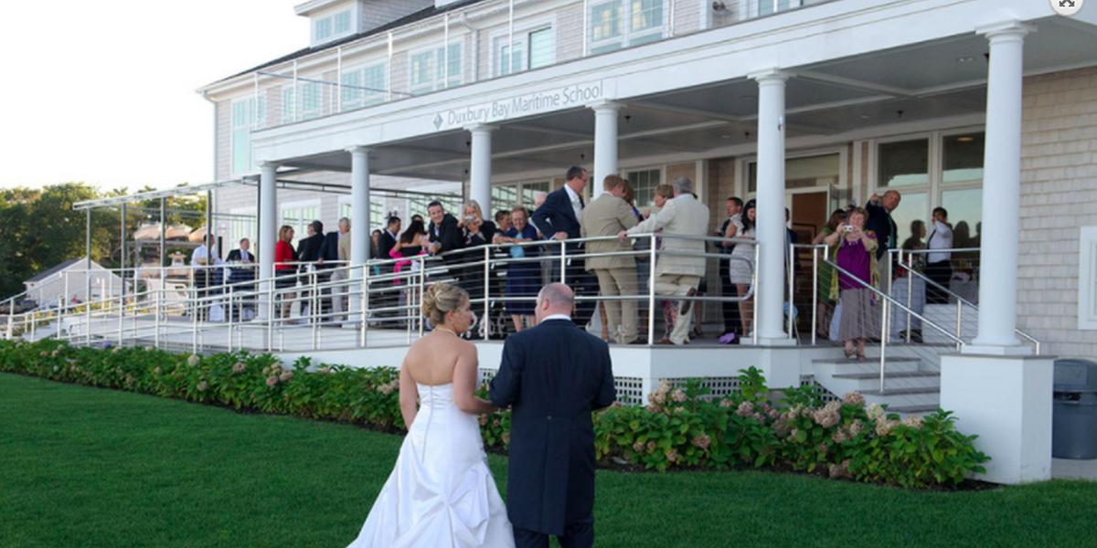 Clifford Hall wedding South Shore