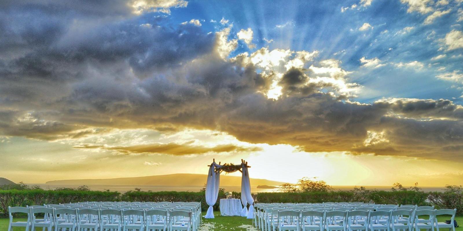 Gannon's wedding Maui