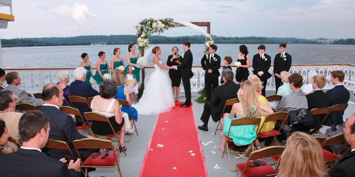 Potomac Riverboat Company wedding Northern Virginia