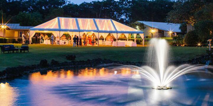 Sunset Ranch Hawaii wedding Oahu