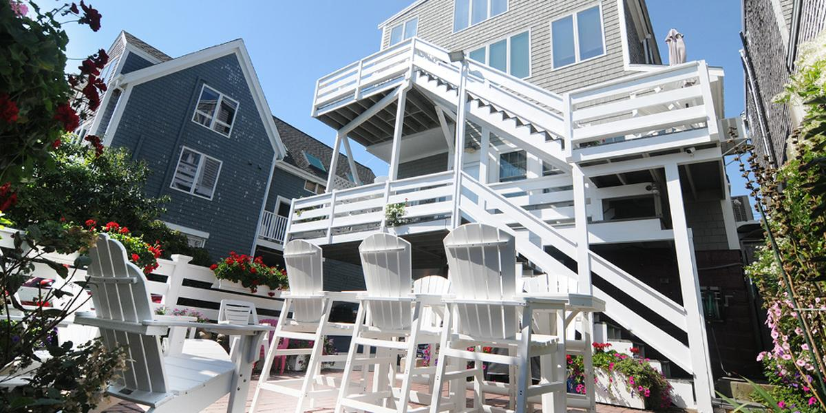 Dyer's Beach Apartment wedding Cape Cod and Islands