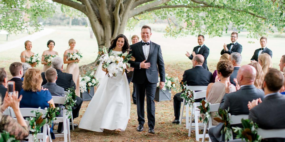 Andrew Jackson's Hermitage wedding Nashville