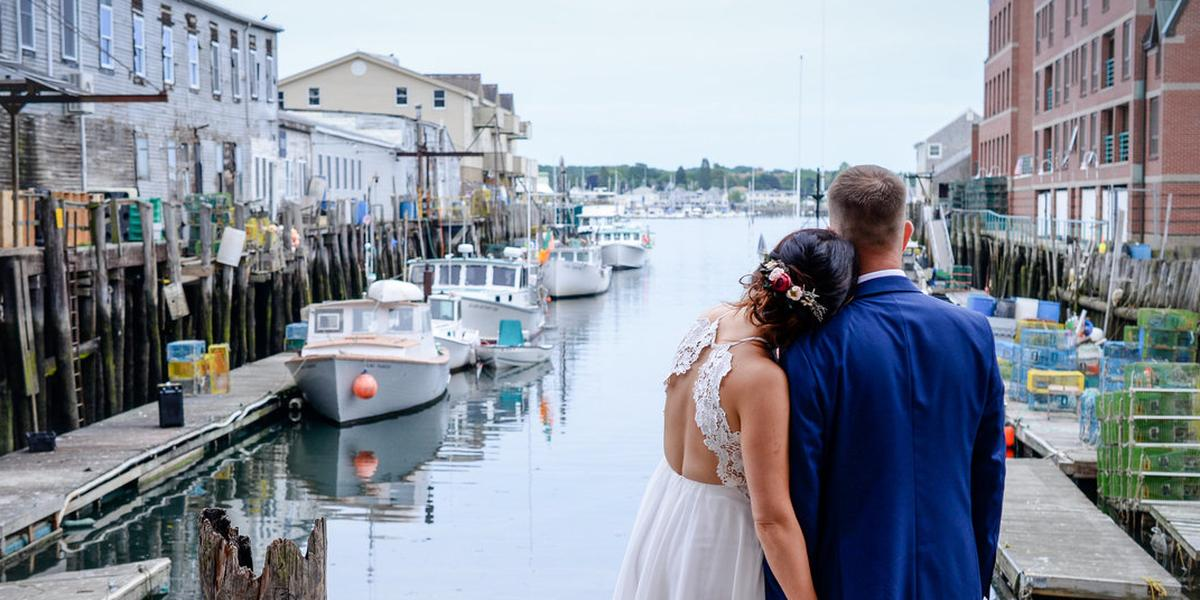 DiMillo's On the Water wedding Maine