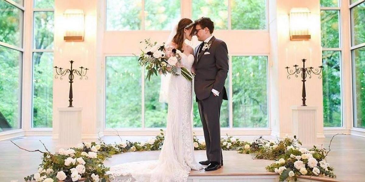 Glass Chapel Tulsa wedding Tulsa