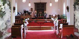 Clifton Presbyterian Church wedding Northern Virginia