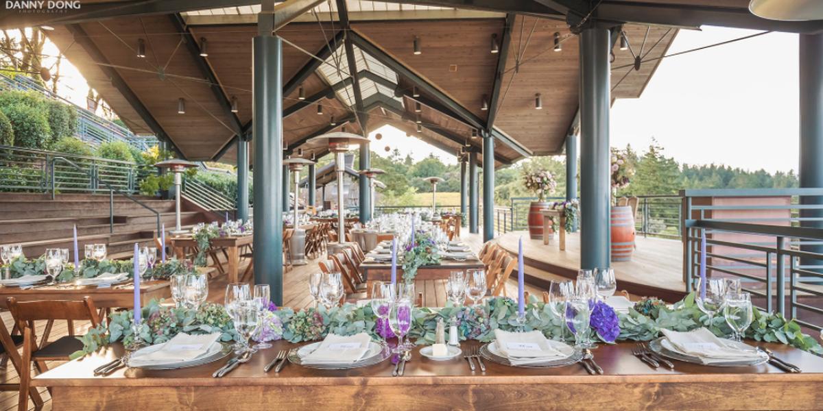 Thomas Fogarty Winery wedding Peninsula