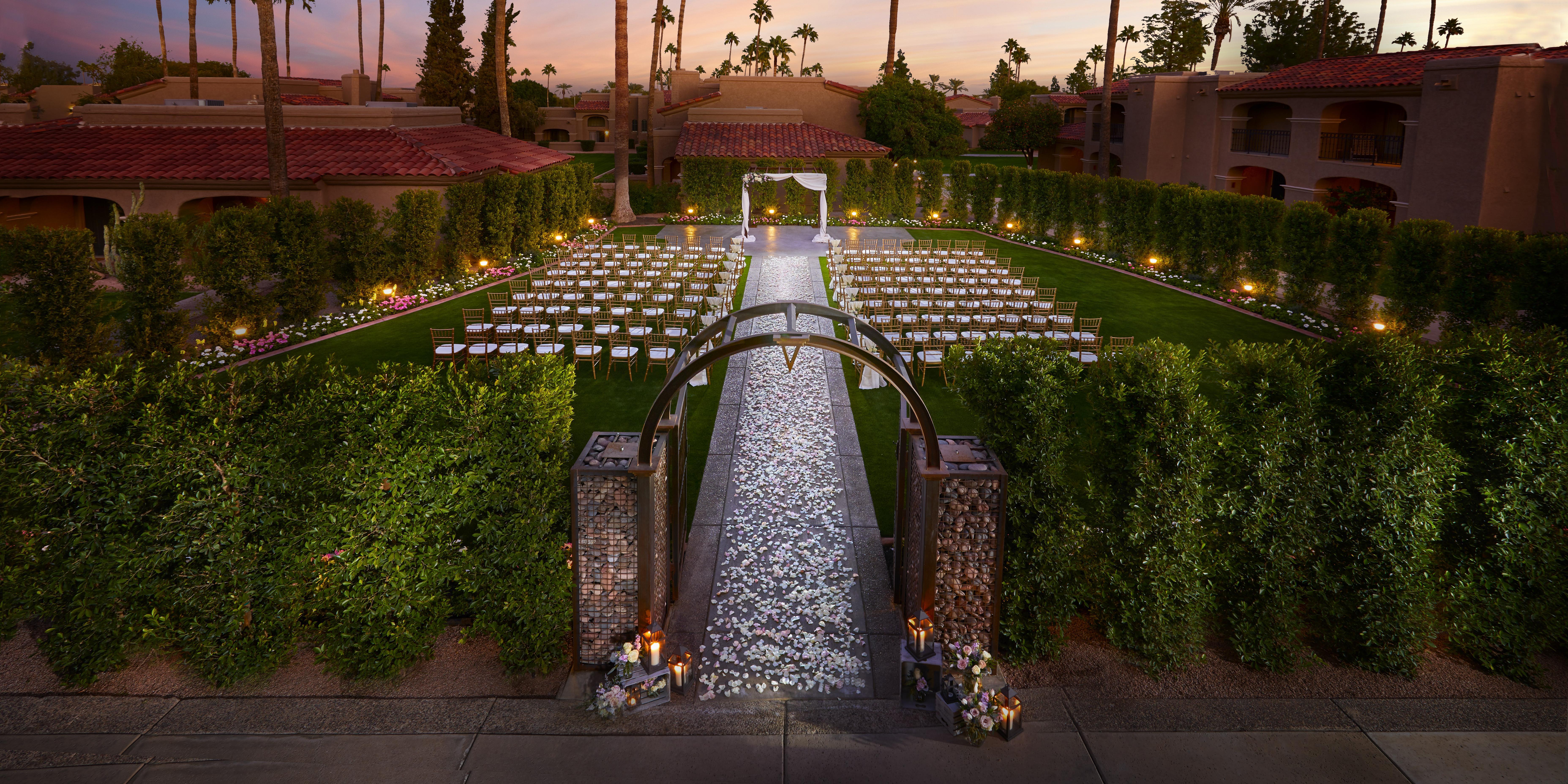 The Scottsdale Plaza Resort wedding Phoenix/Scottsdale