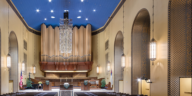 First Plymouth Congregational Church wedding Nebraska