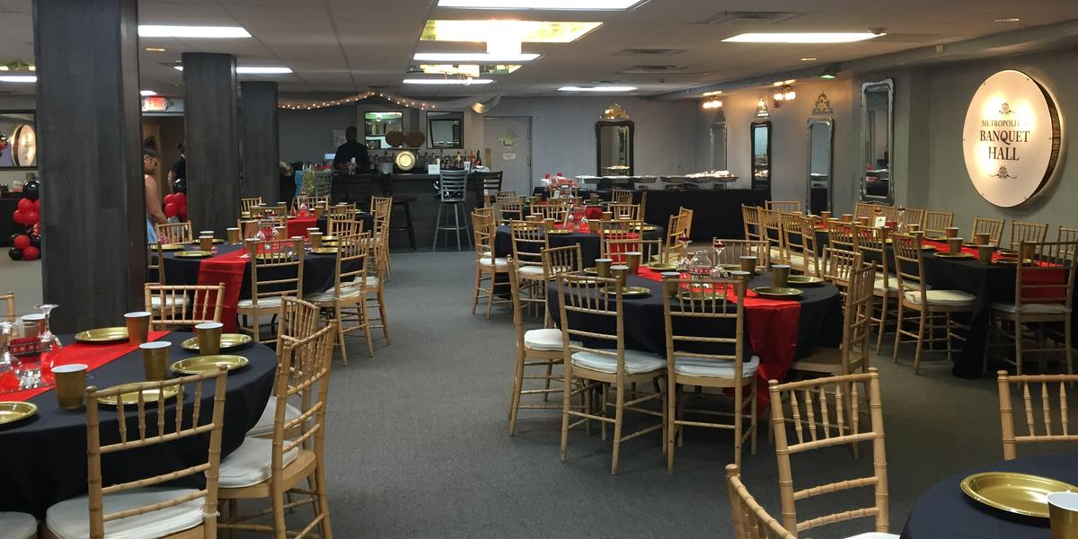 Metropolitan Banquet Room wedding Baltimore