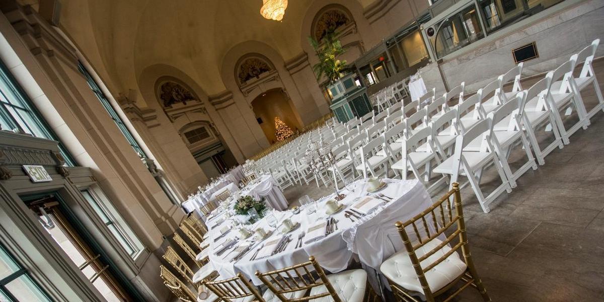 The Grand Ballroom At Joliet Union Station wedding Chicago