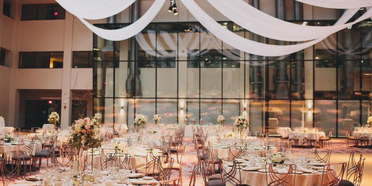 The Atrium at Rich's wedding Western New York