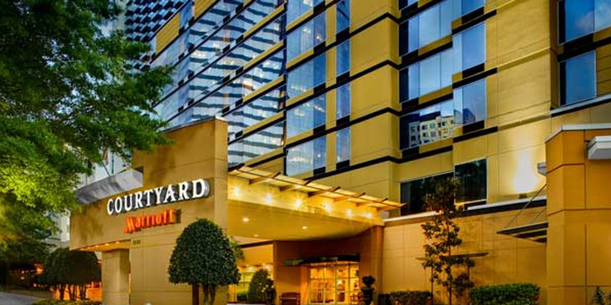 Courtyard Atlanta Buckhead wedding Atlanta