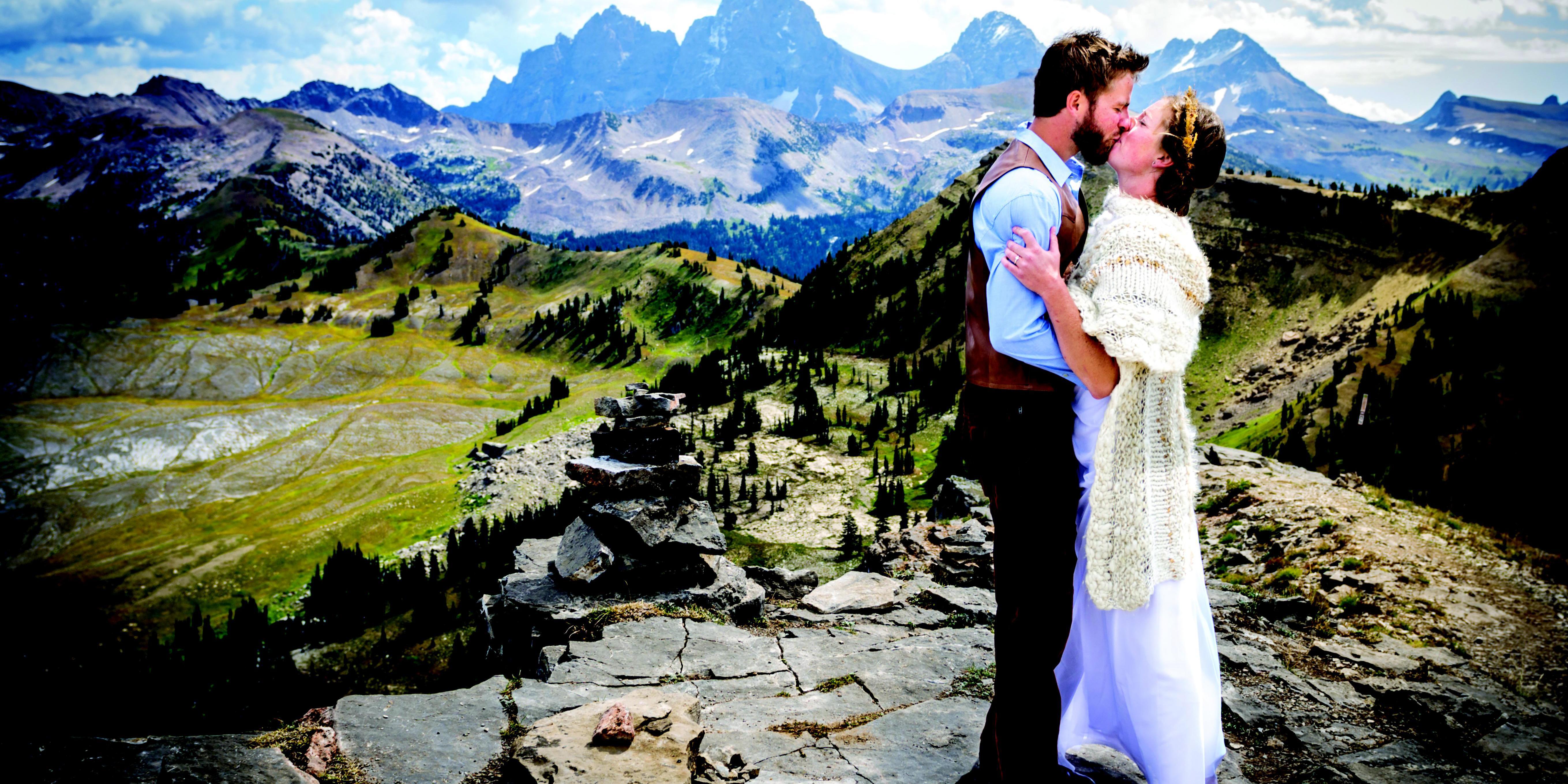 Grand Targhee Resort wedding Wyoming