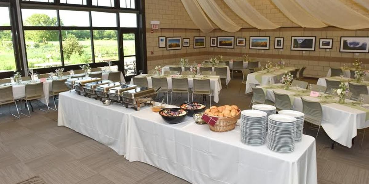 Hickory Knolls Discovery Center wedding Chicago